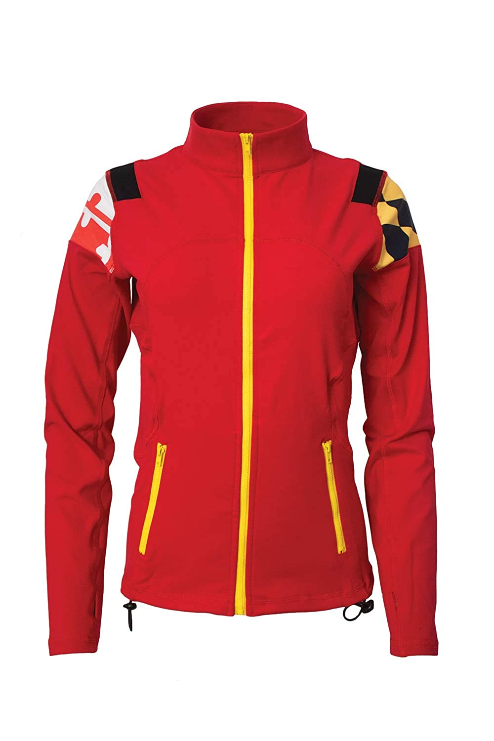 Twin Vision Activewear Maryland Flag Womens Yoga Track ...
