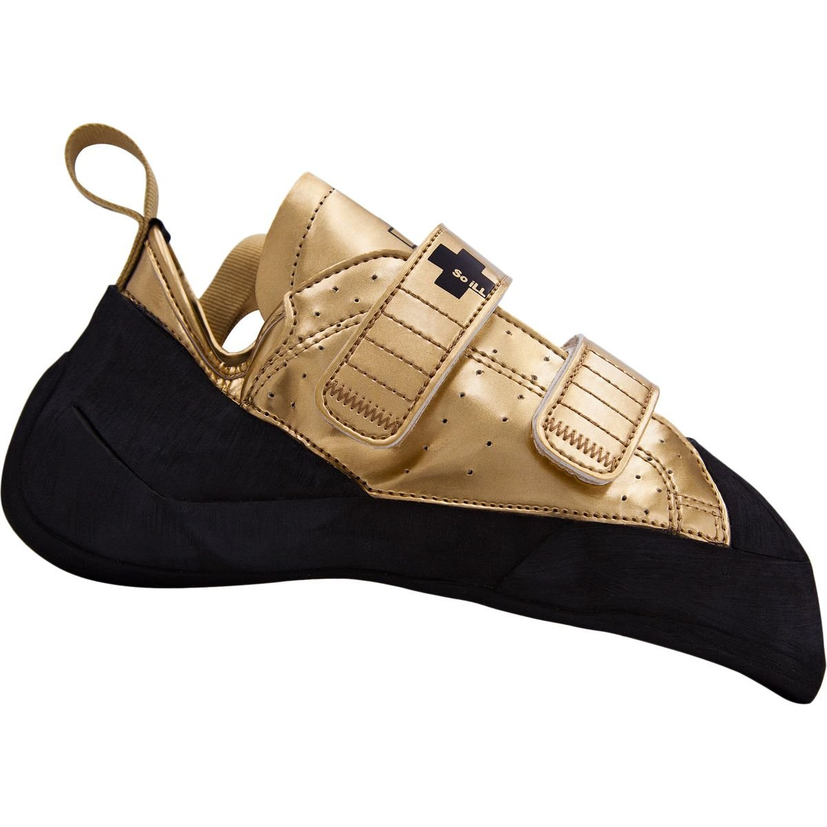 So Ill Holds 2020 Gold Climbing Shoe Gold, 8.0