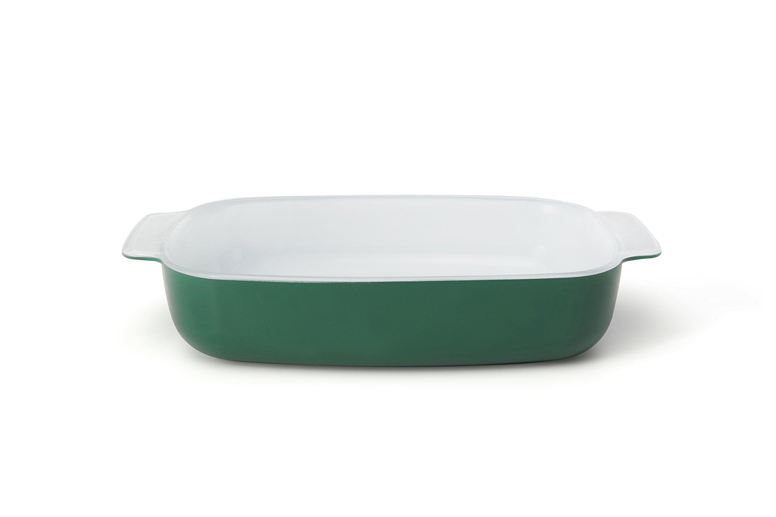 Creo SmartGlass Cookware, 2-quart Baking Dish, Bali Green