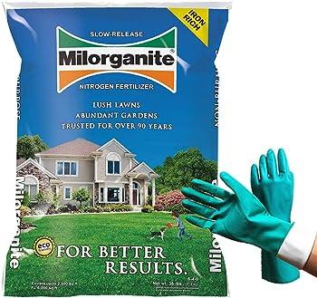 Milorganite 0636 Organic Fertilizer For Green Grass