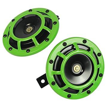 Loud Car Horn >> Carmocar Eletric Car Horn Kit 12v 135db Super Loud High Tone And Low Tone Metal Twin Horn Kit With Bracket For Cars Trucks Suvs Rvs Vans Motorcycles