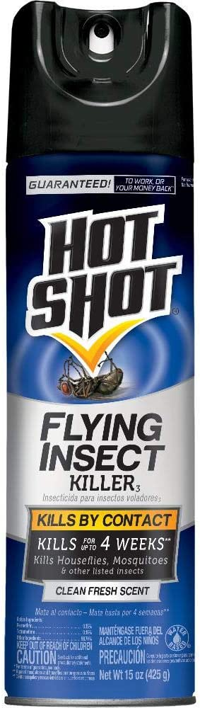 Hot Shot 36310 Flying Insect Killer Insecticide, Blue