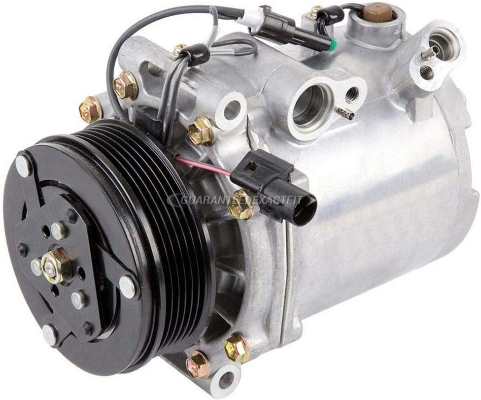 AC Compressor /& A//C Clutch For Kia Rio 2006 2007 2008 2009 2010 2011 BuyAutoParts 60-02298NA NEW