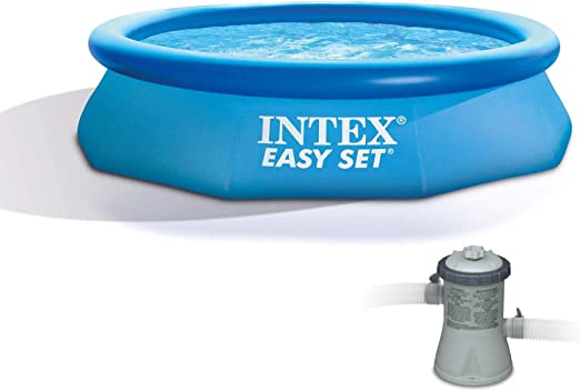 INTEX Piscina Easy Set 305 cm x 76 cm con depuradora: Amazon.es ...