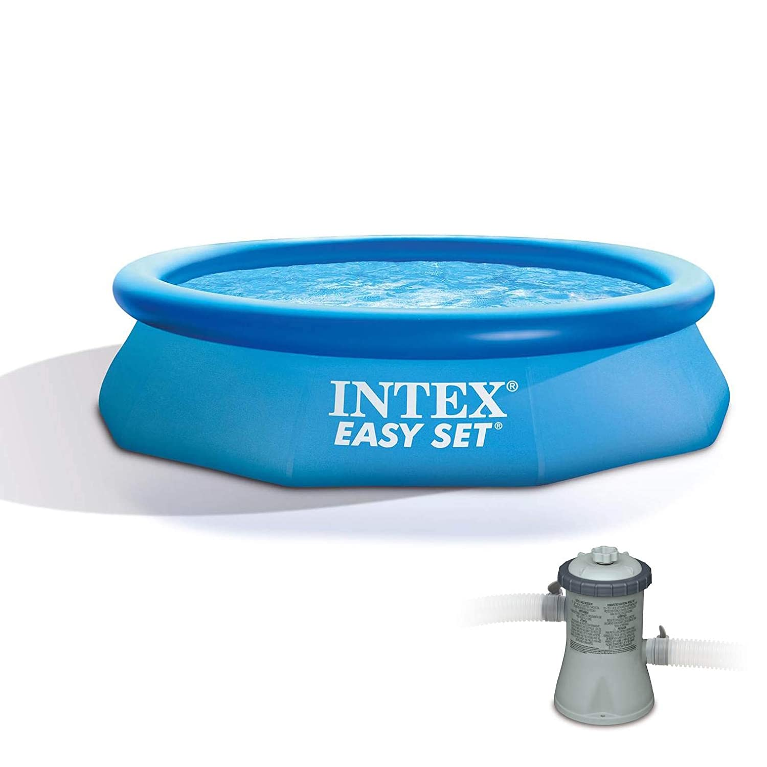 INTEX Piscina Easy Set 305 cm x 76 cm con depuradora: Amazon ...