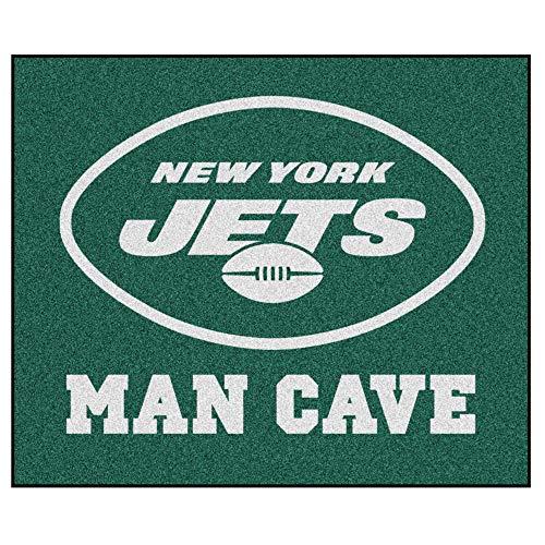 - FANMATS 14347 NFL New York Jets Nylon Universal Man Cave Tailgater Rug