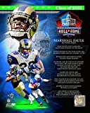 Marshall Faulk 2011 Hall of Fame Composite Photo 11 x 14in