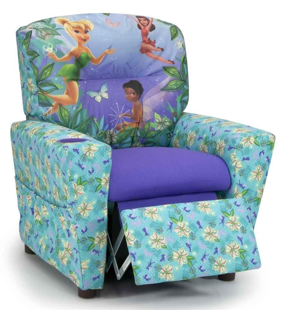 Charmant Amazon.com: Kidz World 446605 Disneys Fairies Kids Recliner, Multi Colored:  Kitchen U0026 Dining