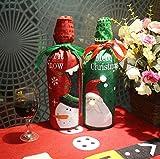 Christmas Dinner Wine Bottle C