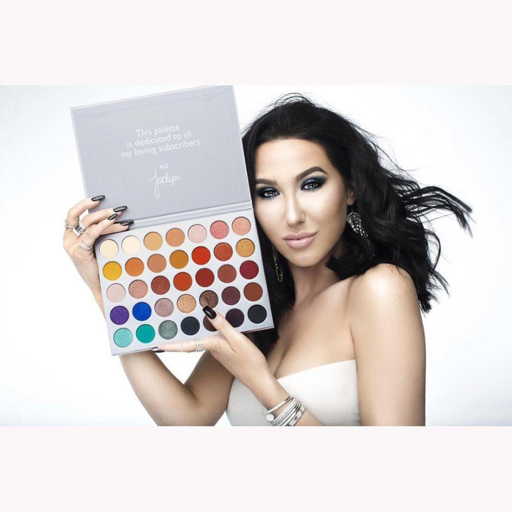 certainPL Professional Waterproof Cosmetic Fashion Limited Edition 35 Color Eyeshadow Palette (35 Color)