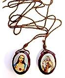 Catholic Wear Ever Wood Scapular