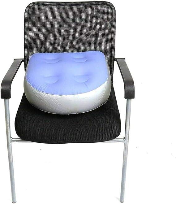Spa y Whirlpool Booster Seat Coj/ín de masaje hinchable con ventosas para adultos y ni/ños