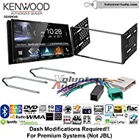 Volunteer Audio Kenwood DDX9904S Double Din Radio Install Kit with Apple CarPlay Android Auto Bluetooth Fits 1995-1997 Ford Explorer, Ford Ranger, Lincoln Town Car