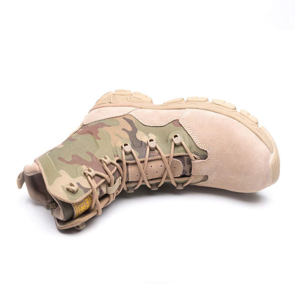 QIKAI QIKAI QIKAI Taktische Stiefel Wasserdicht Camouflage-Stiefel Für Herren Kampfstiefel Special Forces Wanderschuhe eacd68