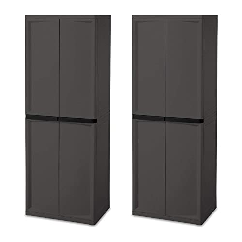 New Plastic Storage Cabinets With Doors Remodelling