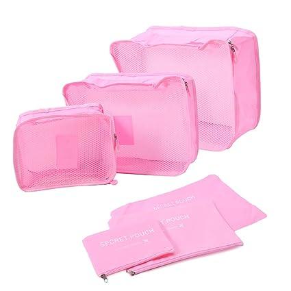 51834351474e Amazon.com: SimpleLif Waterproof Travel Storage Bag Organizer ...