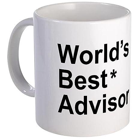 cafepress worldu0027s best advisor mug unique coffee mug coffee cup