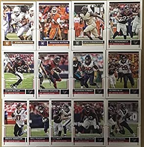 2015, 2016 & 2017 Panini Score Football Houston Texans 3 Team Set Lot Gift Pack 39 Cards W/Rookies