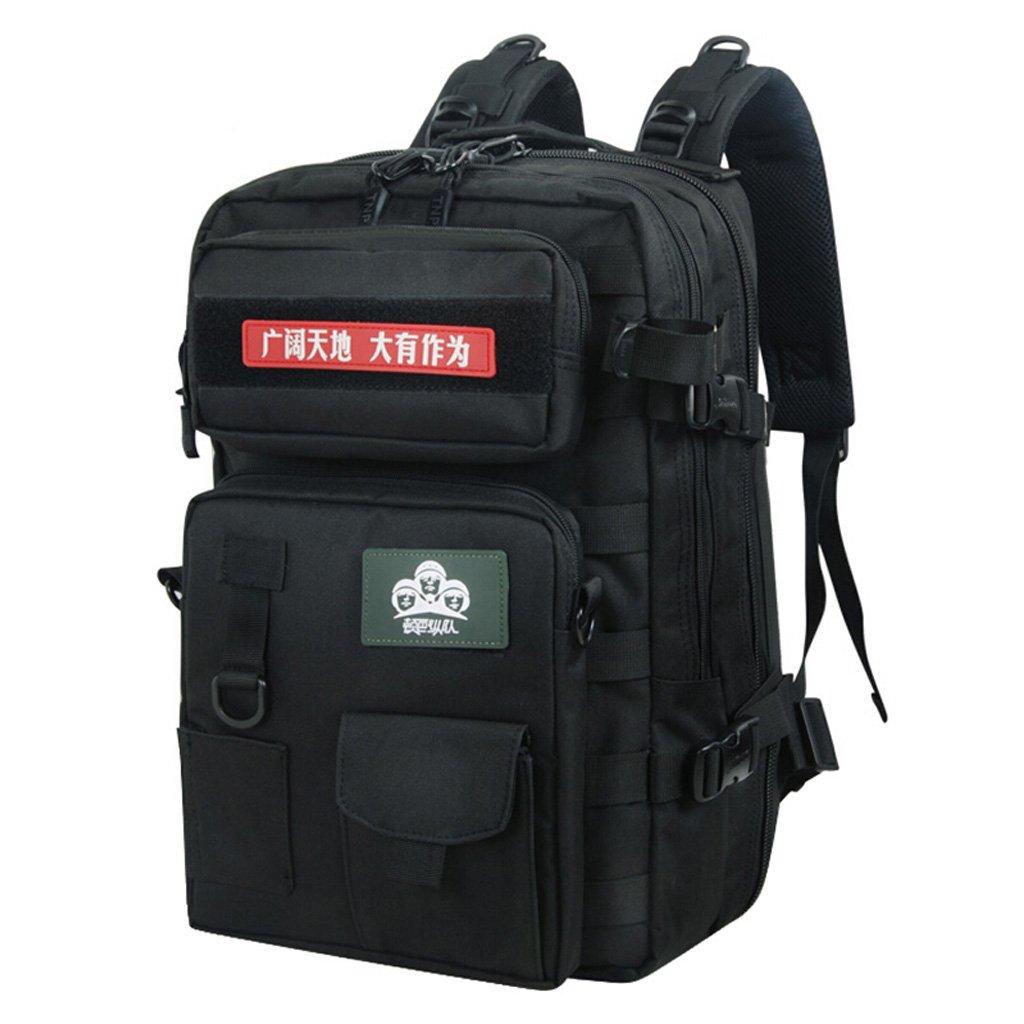 ZJR アウトドア 登山用バッグ メンズ ショルダー 特殊部隊 タクティカル パッケージ 多機能 コンビネーション 迷彩 アーミー ファン バックパック 40リットル 折り畳み可能 ミリタリーファンバッグ 2色展開  2# B07GLSSHK7