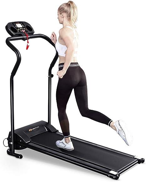 0,75 Ps Gro/ße Lauffl/äche 14 Km//h Miweba Sports elektrisches Laufband HT500 Klappbar Tablet Halterung 12 Laufprogramme