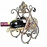 Finly Wine Racks New Royal Wine Holder Home Bar Stand Red Wine Glass Holder Hotel Party Accessories Metal Barrel Wine