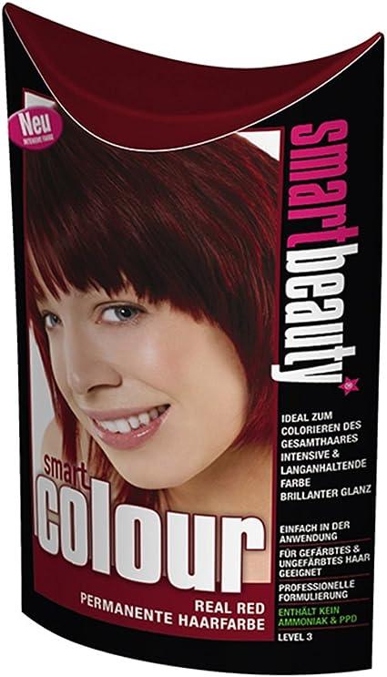 Smart color permanente Real rojo tinte de pelo