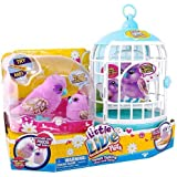 Little Live Pets Owl and Baby Bird with Cage