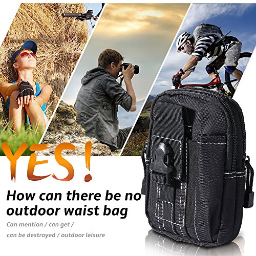 Sports Purse - WILLIAM&KATE Tactical Men's Outdoor Sport Casual Pack Bags Hunting Bags Purse Case