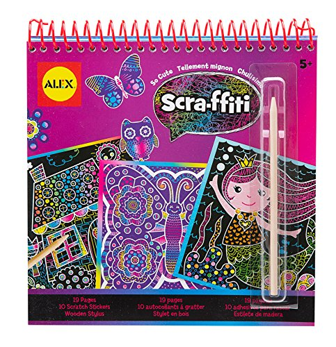 ALEX Toys Artist Studio Scra-ffiti So Cute Artist Studio Scr