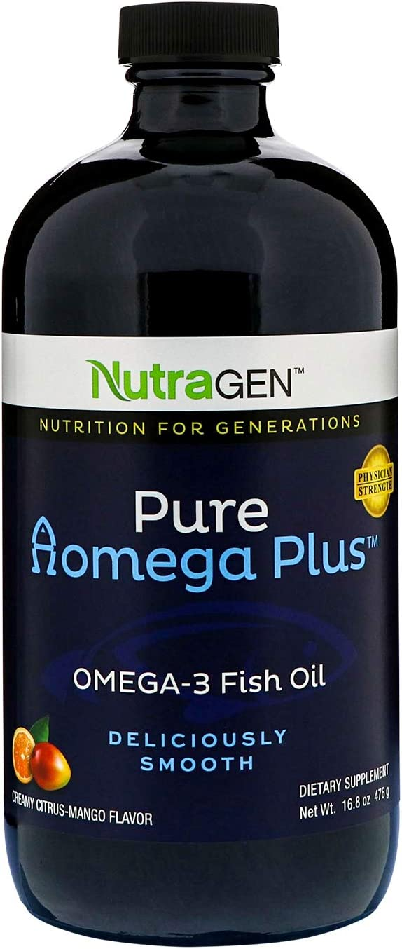 Pure Omega Plus - Fish Oil - 16.8 Ounces