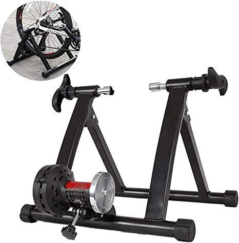 ZY Formación Plegable Cubierta de Bicicletas Turbo Trainer Camino ...