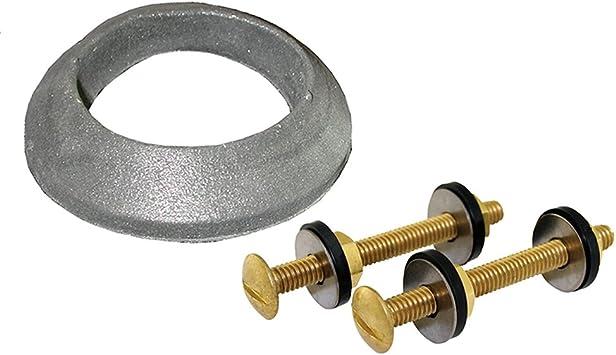 5//16 X 3 Brass Tank Bowl Set Poly Nut