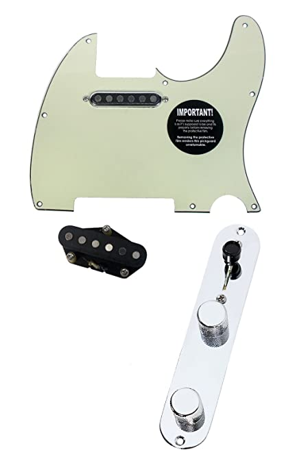 Amazon com: 920D Fender Telecaster Loaded Pickguard TV Jones