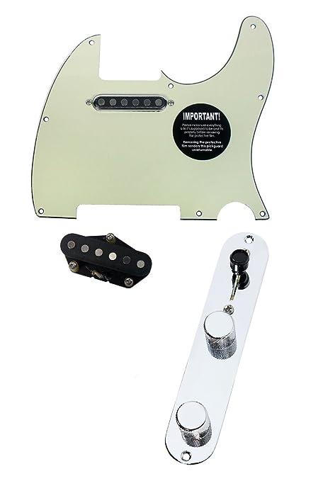 Surprising Amazon Com 920D Fender Telecaster Loaded Pickguard Tv Jones Tele Wiring Cloud Hisonuggs Outletorg