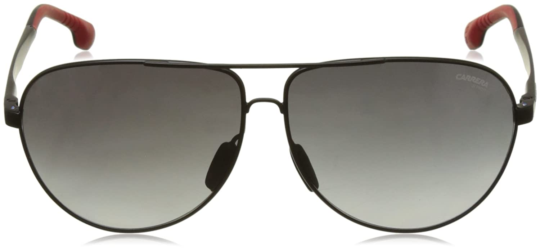 MATTE BLACK 65 mm Carrera Mens 8023//s Aviator Sunglasses