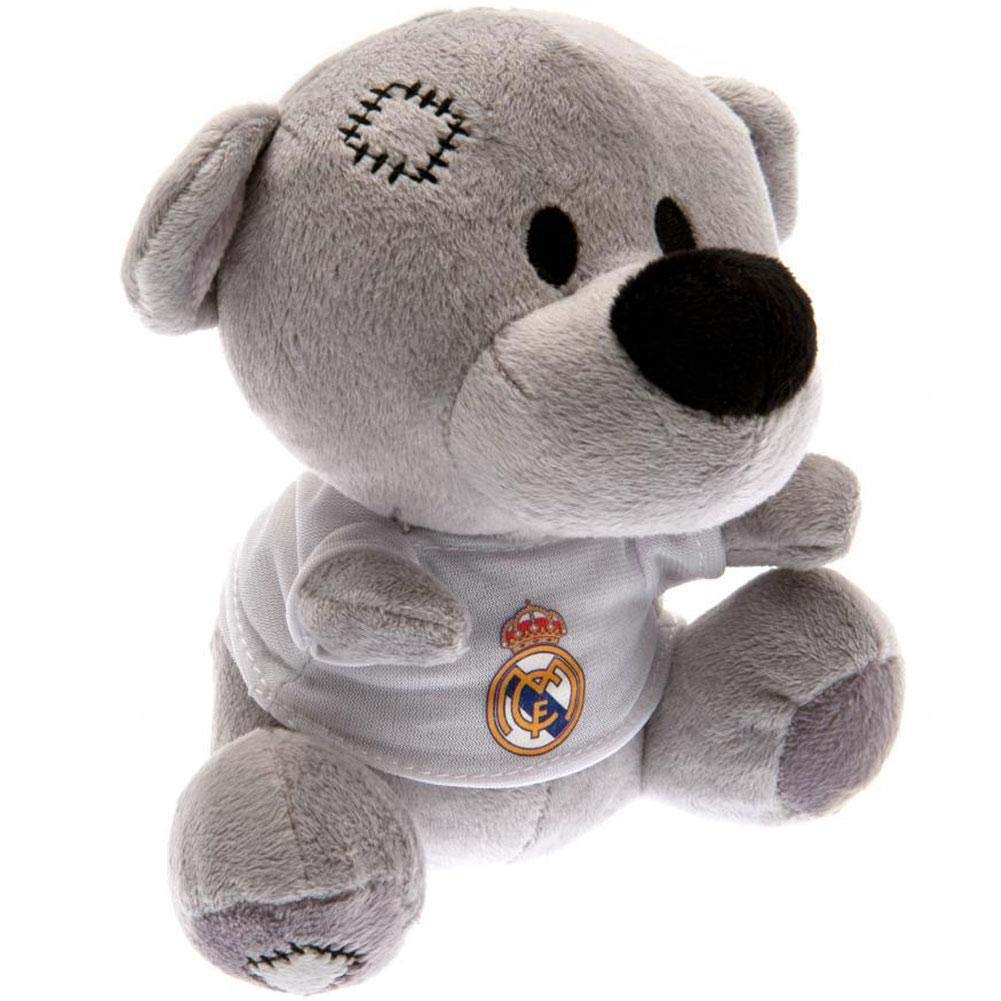 Real Madrid FC Official Timmy Bear (One Size) (Gray/White) UTTA2099_1