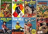 Golden Age COWBOY WESTERN DELL COMICS (DELL Comics, Gene Autry, Range Rider, Rex Allen, Texas Rangers, many more.., Vol 2 of 5)