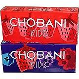 Chobani Kids Mixed Berry Strawberry Greek Yogurt Tubes - 96 per case.
