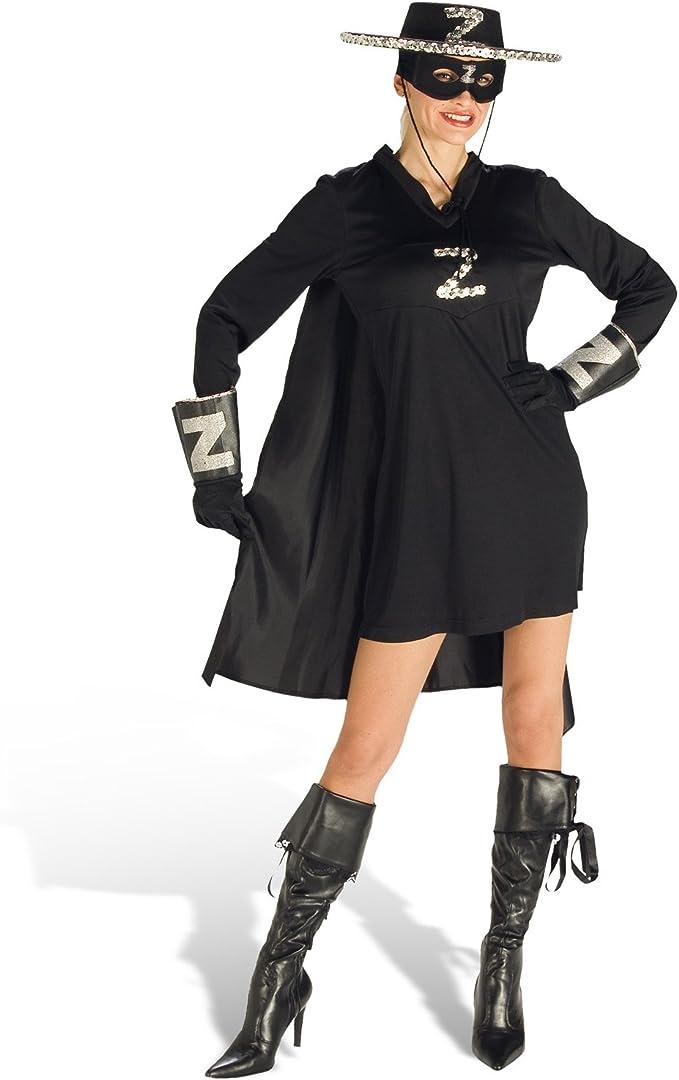 Disfraz de mujer: Zorro de carnaval Lady vestido U Cape – 44/46 ...