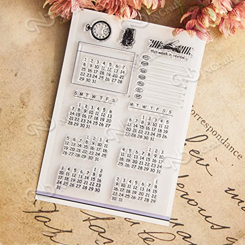 DadaCrafts Calendar Planner Scrapbooking Stickers product image