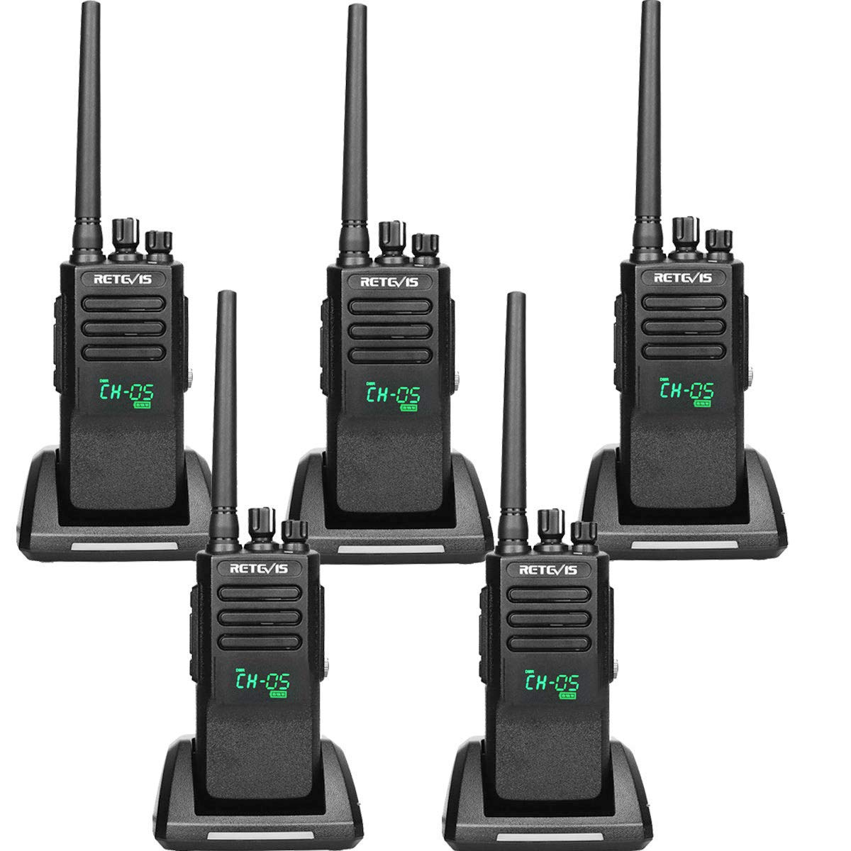 Amazon com: Retevis RT50 Digital 2 Way Radio Waterproof IP67 198 CH
