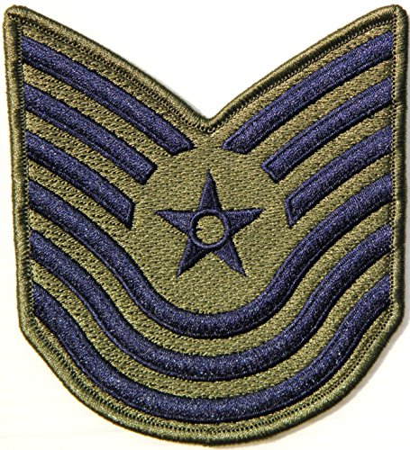 US USAF Air Force Master Technical Sergeant Rank - Air Force Rank Patches