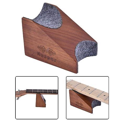 HoneybeeLY Soporte para Cuello de Guitarra, Soporte de Collar, Instrumento de reparación de Instrumentos
