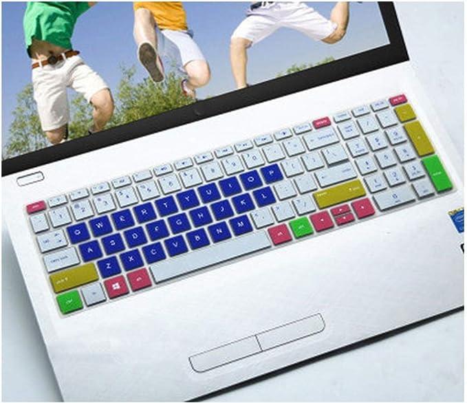Housse de clavier en silicone pour HP Envy X360 15,6 pouces