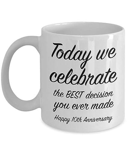 10 Year Wedding Anniversary Ideas.Amazon Com 10th Anniversary Gift Ideas For Him 10 Year Wedding