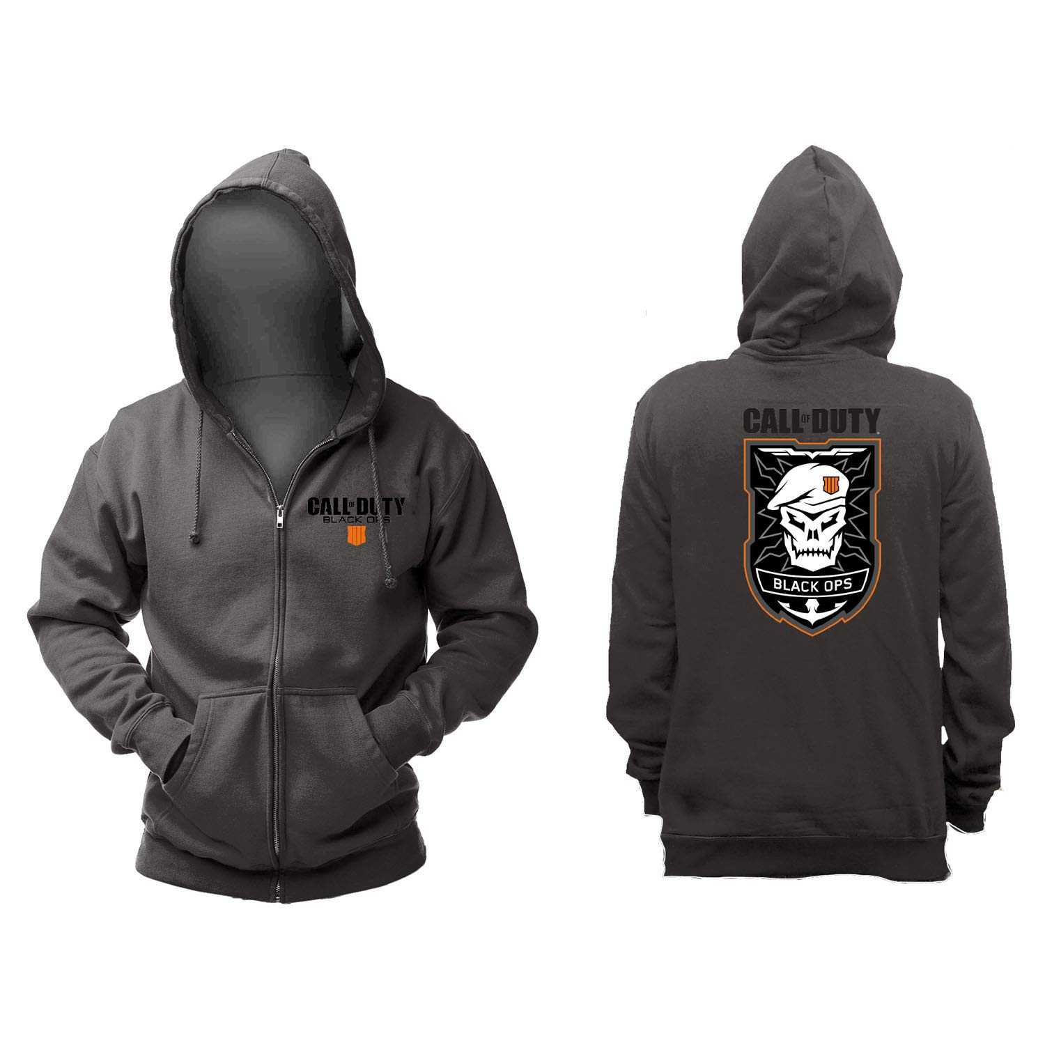 TALLA L. Call of Duty: Black Ops 4 Sudadera Patch Cremall