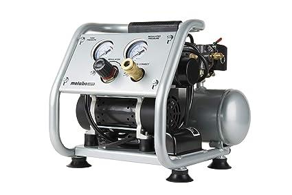 Metabo HPT EC28M Ultra-Quiet Portable Air Compressor, 59 dB, Oil-Free