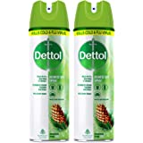 Dettol Multi-Purpose Disinfectant Spray For Hard & Soft Surfaces, Original Pine - 170 g (Pack of 2)