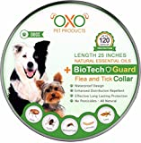 Dog Flea Treatment Collar - Tick and Flea Collar For Dogs. Natural Repellent With Essential Oils.