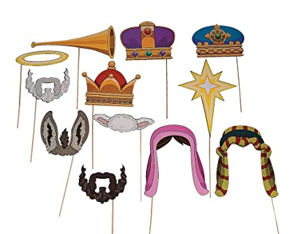 Christmas Plays For Schools.12 Nativity Story Photo Props For School Plays Christian Nativity Parties